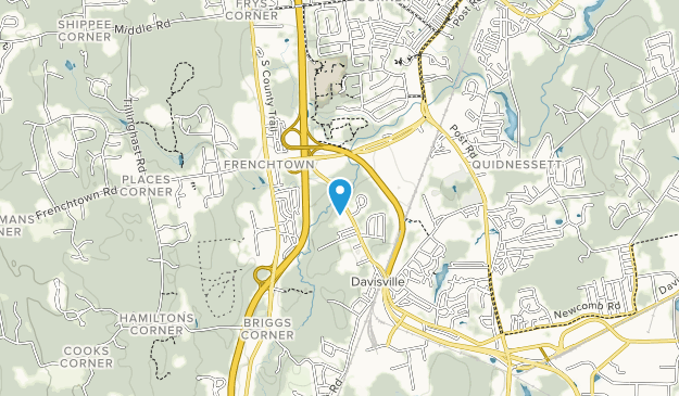 Davis Memorial Wildlife Refuge Map