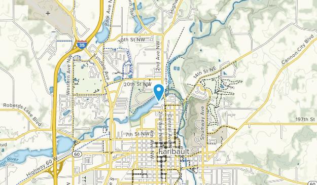 North Alexander Park Map