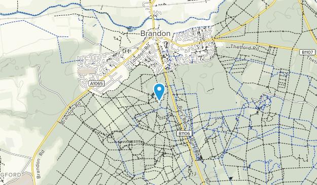 Brandon Country Park Map