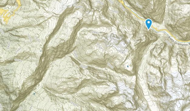 Hampta Pass Map