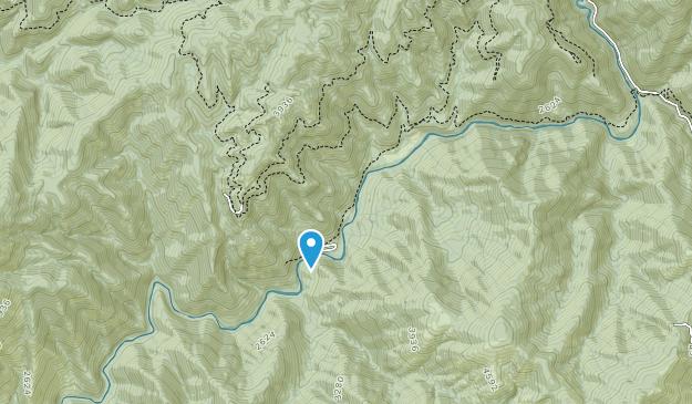 Nature Conservancy: McCloud River Preserve Map