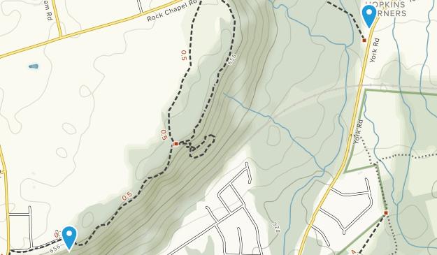 Rock Chapel Conservation Area Map