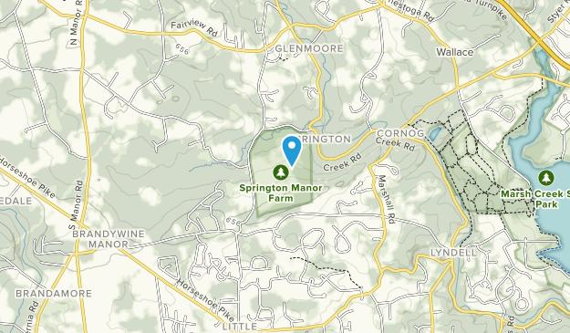 Springton Manor Farm Map