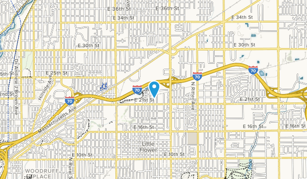 Pogues Run Art and Nature Center Map