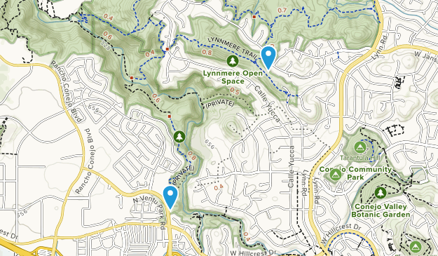 Lynnmere Open Space Map
