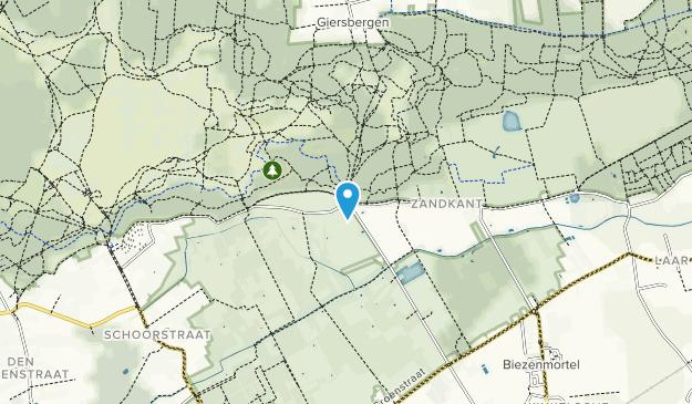 National Park De Loonse en Drunense Duinen Map