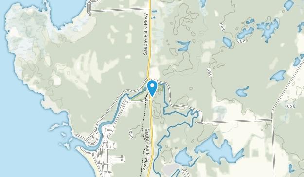 Sauble Falls Provincial Park Map