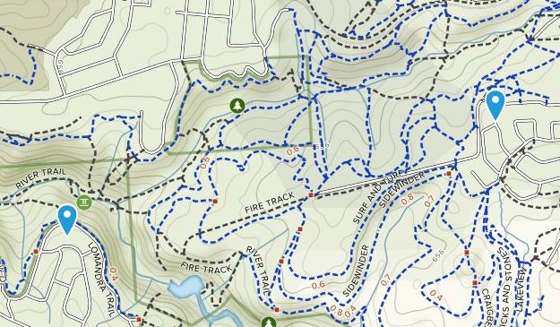 Sturt Gorge Recreation Park Map