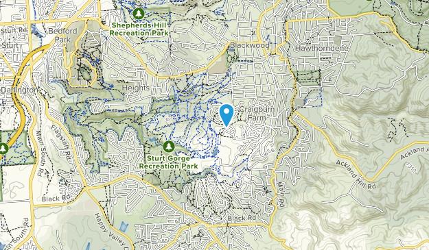 Craigburn Farm Open Space Reserve Map