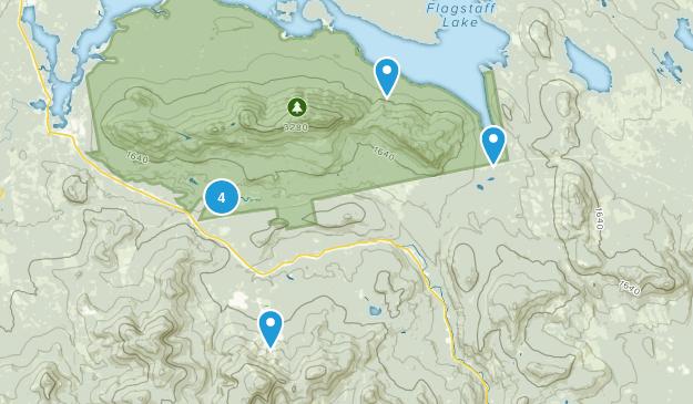 Bigelow Preserve Map
