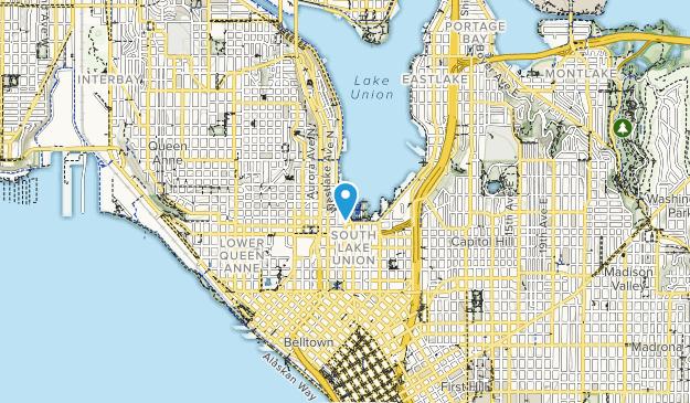 Lake Union Map