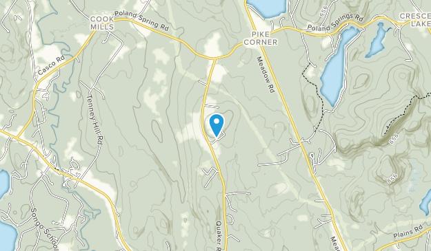Hacker's Hill Preserve Map