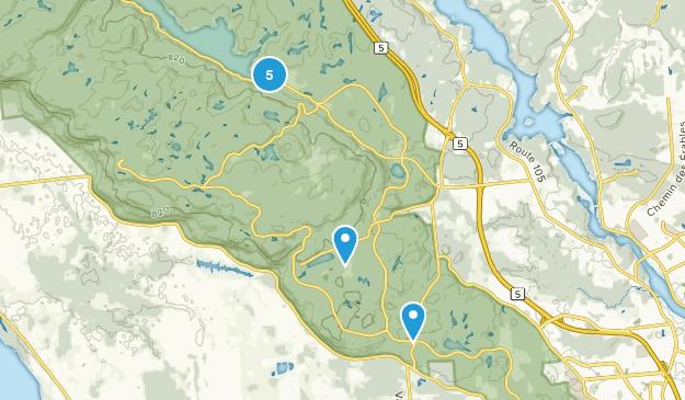 Parc de la Gatineau Map