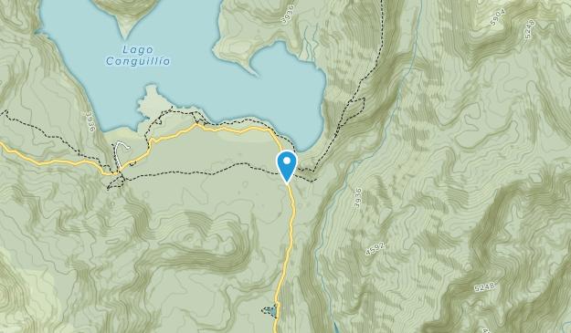 Parc national Conguillío Map