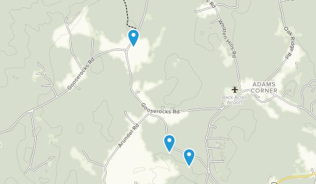 Kennebunkport Conservation Trust Map