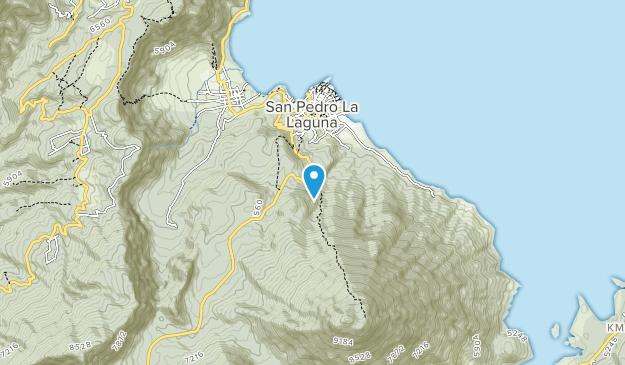 Lake Atitlan Map