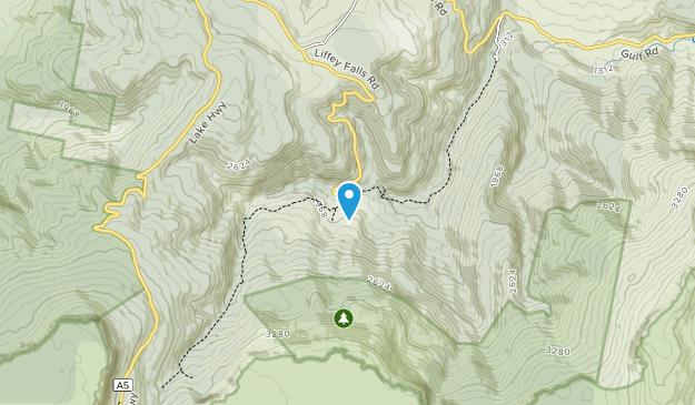 Liffey Falls State Reserve Map