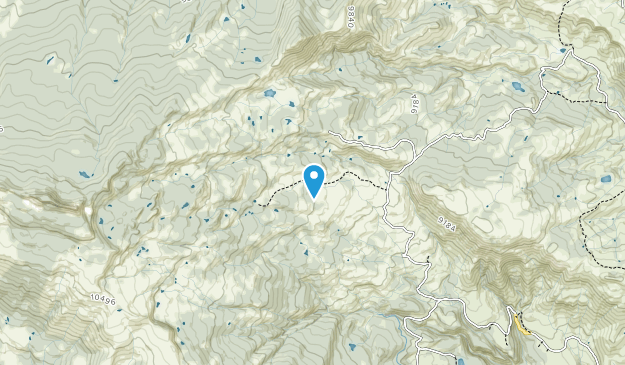 Castle Peak Wilderness Study Area Map