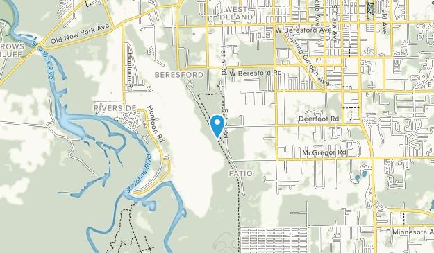 Lake Beresford Park Map