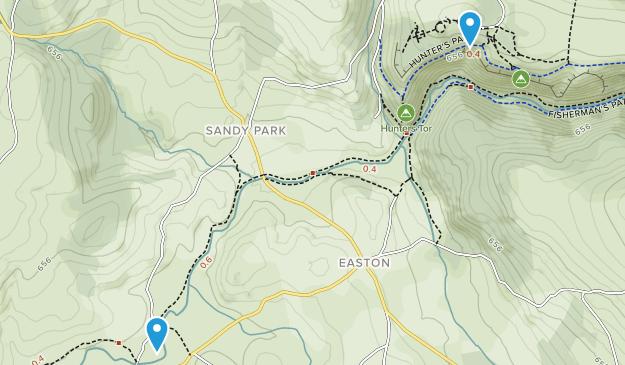 Dartmoor National Park Map