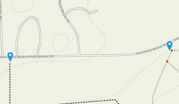 Stinchfield Woods Map