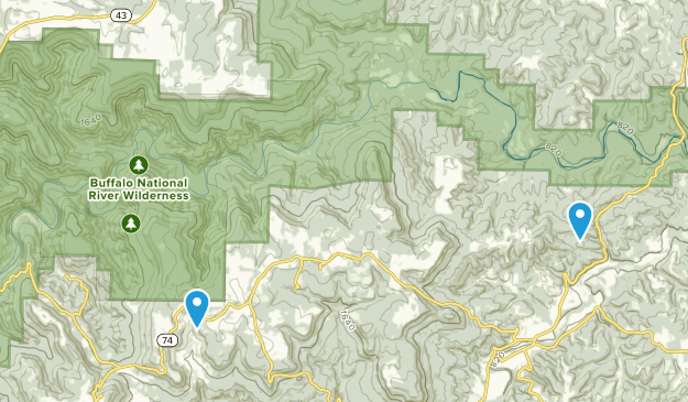 Henry Koen Experimental Forest Map