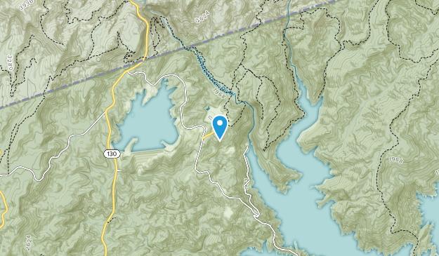 Nantahala National Forest Map
