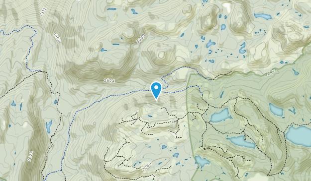 Tetrahedron Provincial Park  Map
