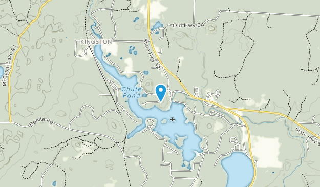 Chute Pond County Park Map