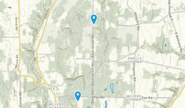 Carlton Hill Multiple Use Area Map