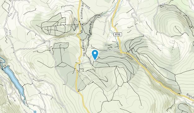 Cruagh, Tibradden & Pine Forest Map