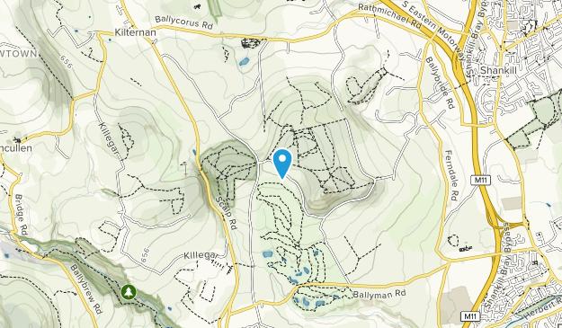 Barnaslingan & Carrickgollogan Map