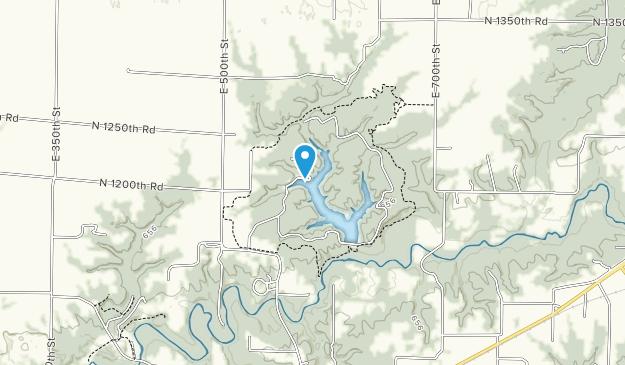 Argyle Lake State Park Map