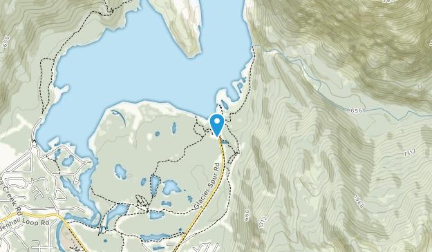 Mendenhall Glacier Recreation Area Map