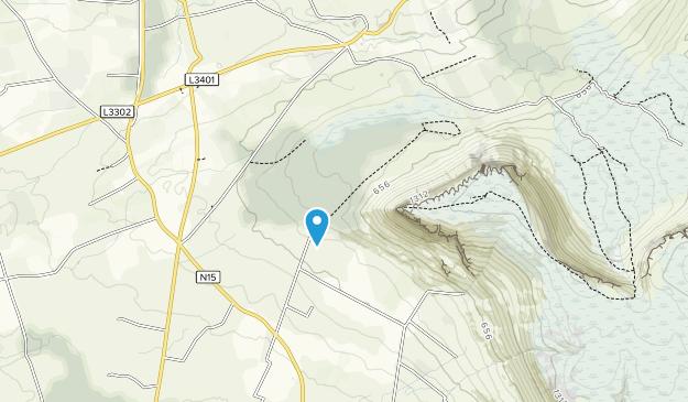 Gortarowey Forest Recreation Area Map