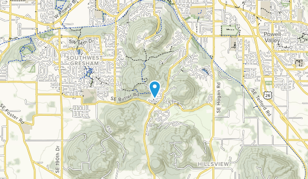 Gabbert Butte Nature Park Map