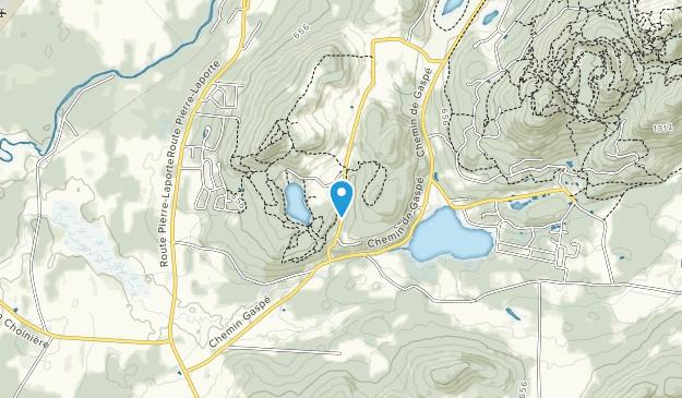 Domaine Naturel du Lac Gale Map