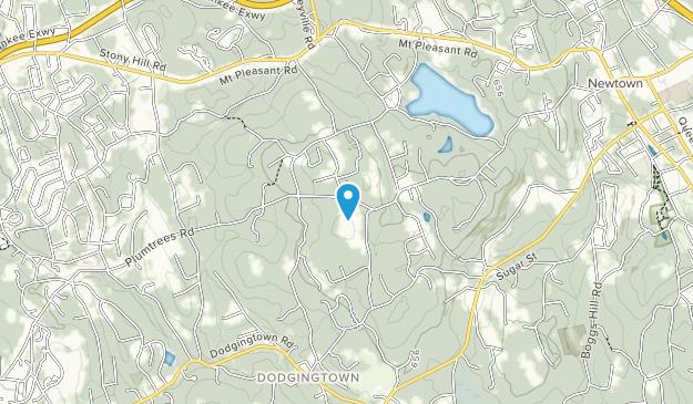 Holcombe Hill Wildlife Preserve Map