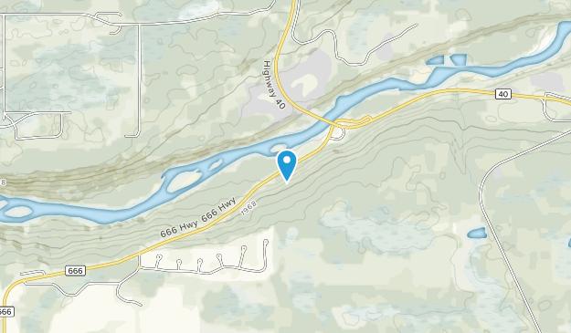 O'Brien Provincial Park Map