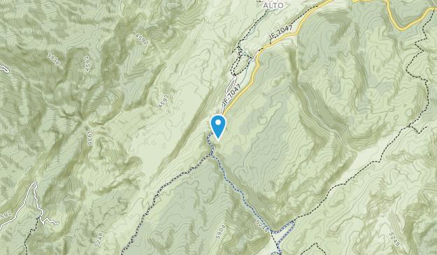 parque nacional de la sierra de cazorla segura y las villas Map