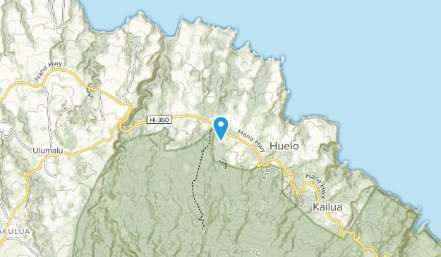 Koolau Forest Reserve Map