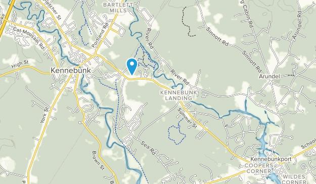 Wonder Brook Preserve Map