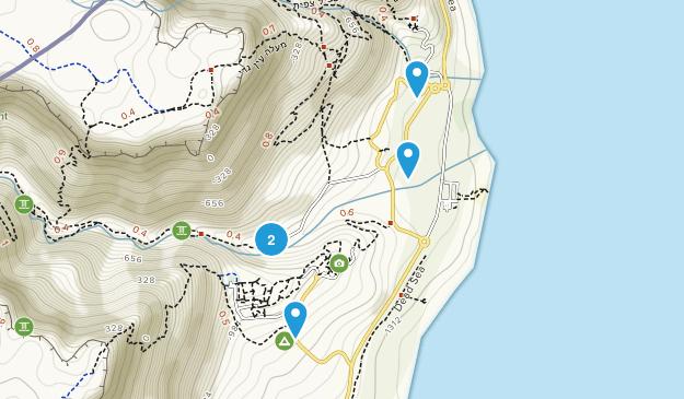Ein Gedi Nature Preserve Map