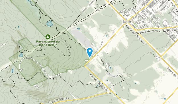 Parc Naturel du Mont Belair Map