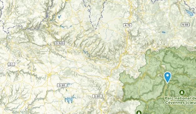 Cévennes National Park Map