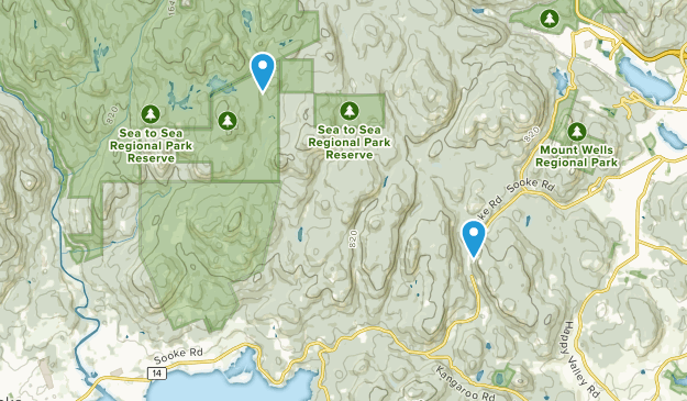 Sooke Mountain Provincial Park Map