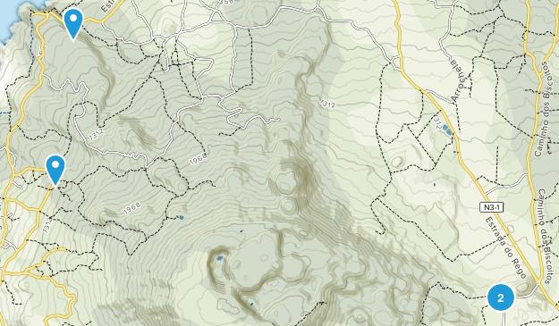 Reserva Natural da Serra de Santa Barbara e dos Mistérios Negros Map