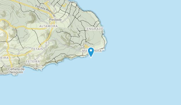 Area de Paisagem Protegida da Cultura da Vinha- Ponta da Ilha Map