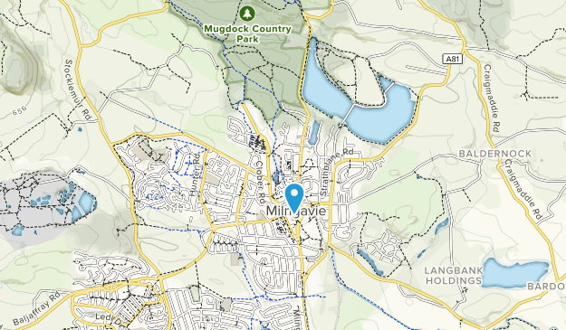 Loch Lomond Map