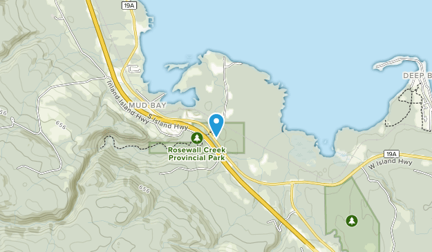 Rosewall Creek Provincial Park Map